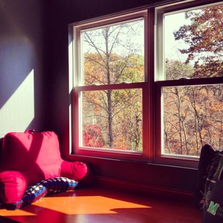 Reading, Window Seat